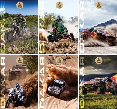 Zeszyt A4 w kratkę 54 kartki Dakar