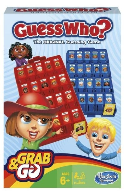 Gra Guess Who Grab and Go (B1204)