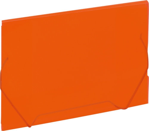 Koperta A4 na dokumenty Grand pomarańczowa na gumkę