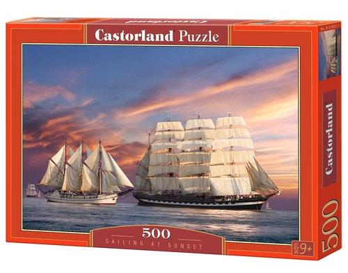 Puzzle 500 Sailing at Sunset (51892)