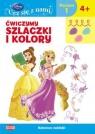 Disney uczy Ucz się z nami Ćwiczymy szlaczki i kolory Księżniczki