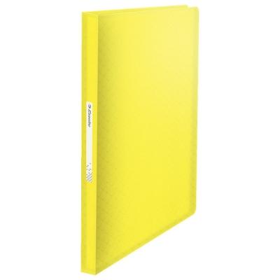 Teczka ofertowa Esselte colour ice z80 A4 kolor: żółty 80 kieszeni (626235)