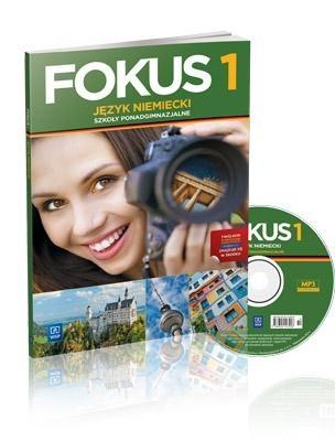 Fokus 1 Podręcznik + CD Szczęk Joanna, Kryczyńska-Pham Anna