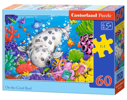 Puzzle On the Coral Reef 60 elementów