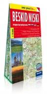 Beskid Niski papierowa mapa turystyczna 1:70 000