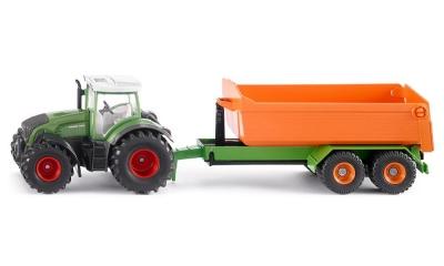 Siku Farmer Traktor z podnośnikiem