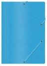 Teczka z gumką A4 preszpanowa niebieska 390g. (21194011-01) Office Products