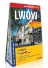 Lwów kieszonkowy laminowany plan miasta 1:10 000