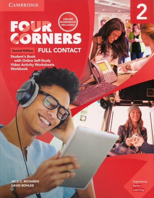 Four Corners 2 Super Value Pack (Full Contact with Self-study and Online Workbook) Richards Jack C., Bohlke David