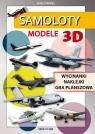 Samoloty Modele 3D Wycinanki, naklejki, gra planszowa. Cuda z papieru Tonder Krzysztof