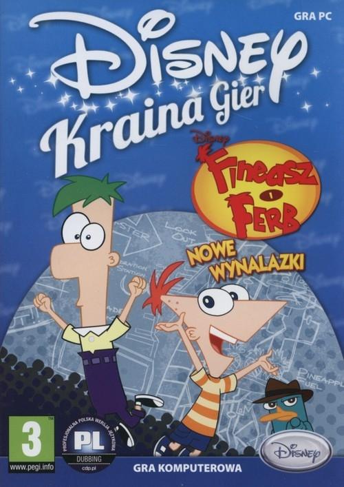 Disney Kraina Gier Fineasz i Ferb Nowe Wynalazki