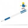 Długopis żelowy LEGO z minifigurką - Niebieski (52600)