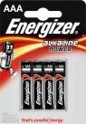 Baterie. 4x bateria Energizer Alkaline Power AAA-LR03 (EN-247893)