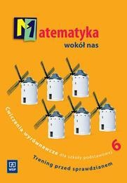 Matematyka wokół nas 6 Ćwiczenia wyrównawcze Lewicka Helena, Lewicka Joanna
