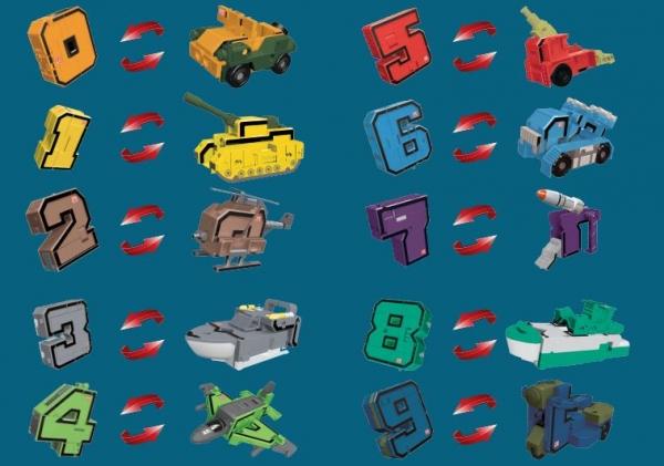 Pocket Morphers II - zestaw numerów
