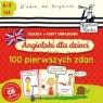 Angielski dla dzieci 100 pierwszych zdań + karty obrazkowe)