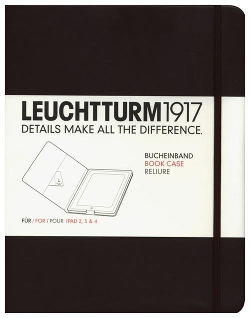 Etui iPad 2-4 Leuchtturm1917 tabaka