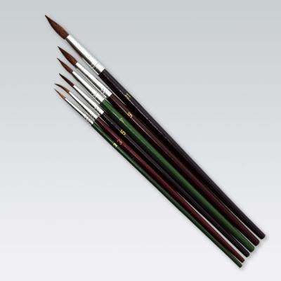 Pędzle Titanum do farb akwarelowych (252A)