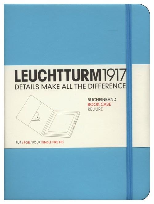 Etui Kindle Fire HD Leuchtturm1917 turkusowe