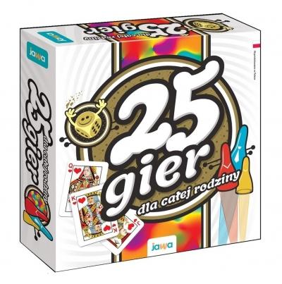 25 gier dla całej rodziny (Uszkodzone opakowanie)