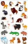 Naklejki 3D Zwierzęta sawanny MAILDOR