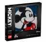 Lego Art: Disney's Mickey Mouse (31202) Wiek: 18+