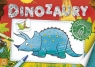 Dinozaury Malowanka z naklejkami
