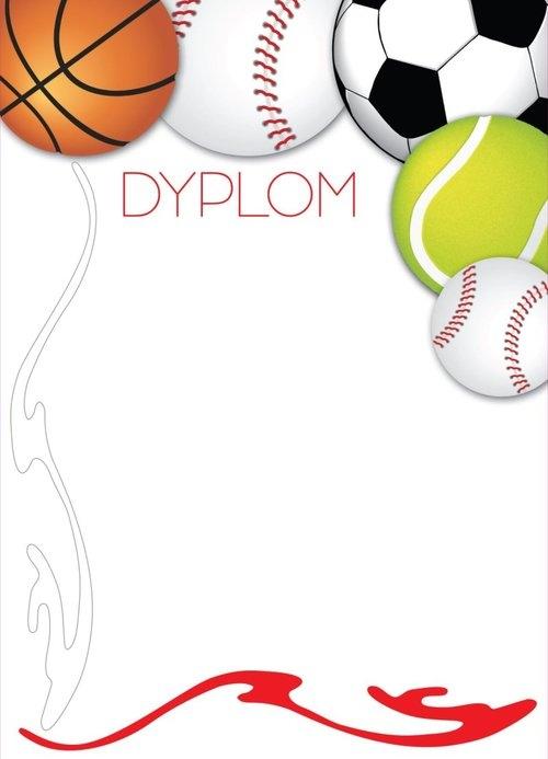 Dyplomy sportowe Piłki