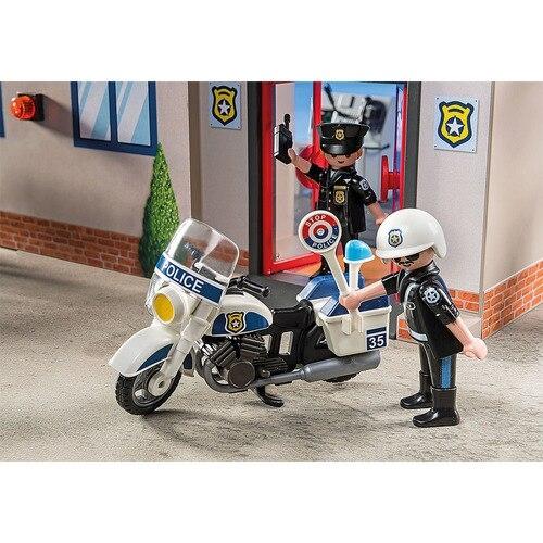 Playmobil City Action: Przenośny komisariat policji (5689)