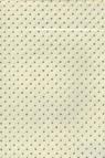 Papiery ozdobne White kropki - srebrne 20x29 cm 10 arkuszy