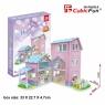 Puzzle 3D Alisa\'s home Domek dla lalek 74 elementy (P689h)