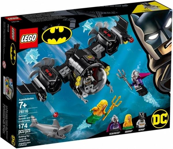 Klocki Super Heroes Łódź podwodna Batmana (76116)