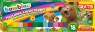 Plastelina 18 kolorów kwadratowa Bambino