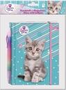 Pamiętnik z długopisem The Sweet Pets - Kot