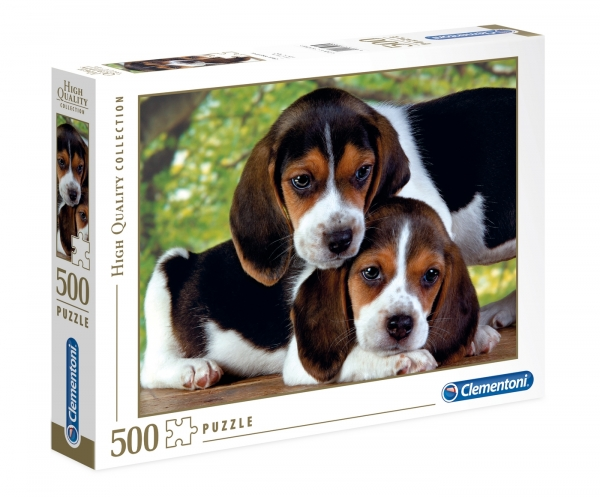 Puzzle High Quality Collection 500: Blisko siebie (30289)