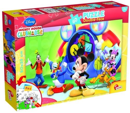 Puzzle dwustronne Double-Face 60 Myszka Miki i Przyjaciele (47895)