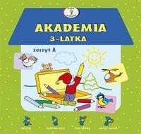Akademia 3-latka. Zeszyt A Krassowska Dorota