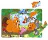 Puzzle ramkowe 21: Wiewiórki (DOPR300224) Wiek: 1,5+