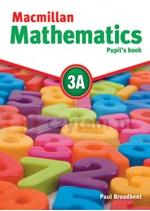 Macmillan Mathematics 3A PB with CD-ROM Paul Broadbent