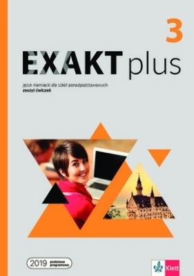 Exakt plus 3. Ćwiczenia + kod dostępu do podręcznika i ćwiczeń interaktywnych
