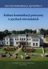 Kultura komunikacji potocznej w językach słowiańskich