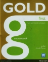 Gold first certificate in English Coursebook + CD Bell Jan, Thomas Amanda