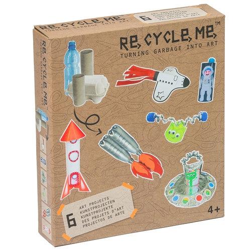 Re-Cycle-Me Zestaw Kreatywny Kosmos 6 zabawek