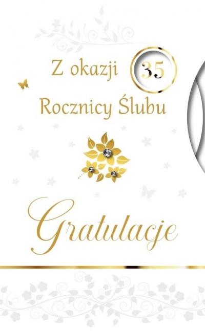 Karnet Rocznica Ślubu LUX-47