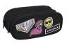 Coolpack - Clever - Piórnik szkolny - Badges Girls Black (93897CP)