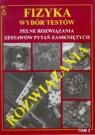 Fizyka wybór testów T.2 rozwiązania w.2012 MEDYK