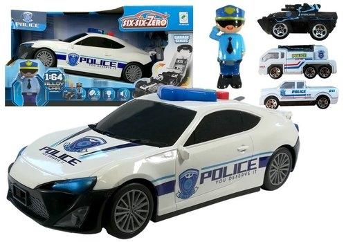 Pojazd Policji Transporter z realistycznymi dźwiękami