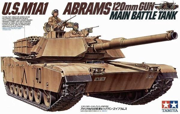 U.S. M1A1 Abrams (35156)
