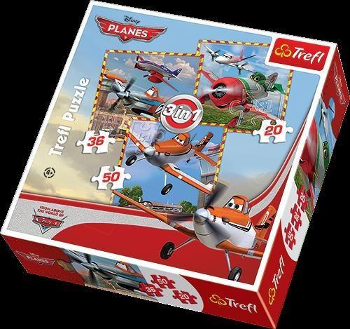 Puzzle 3 w1 Planes Podniebne podboje (34189)