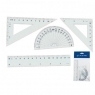 Zestaw geometryczny 4 elementy 15cm